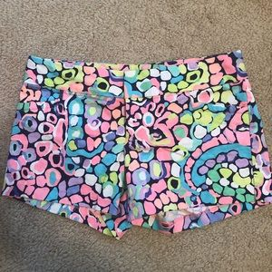 EEEEUC Lilly Pulitzer Ellie Shorts in Gypsy Jungle